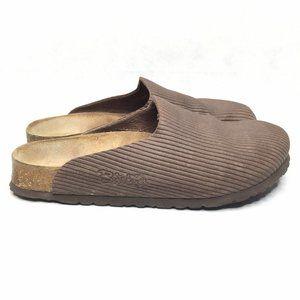 Birkenstock Birki's Light Brown Leather Clogs Slip